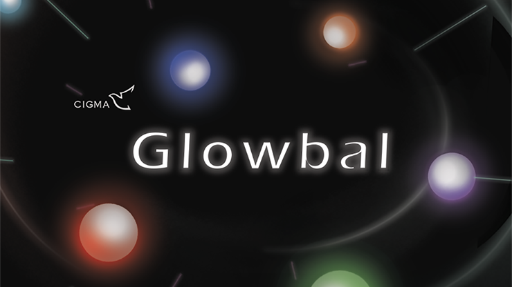 Glowbal 1 75 inch (color changing) single ball by Cigma Magic - Trick