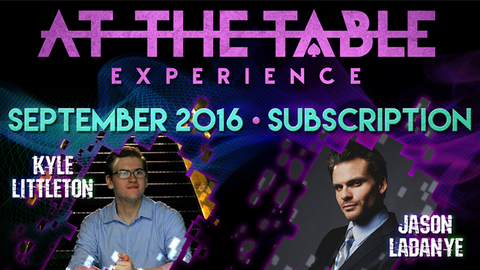 At The Table September 2016 Subscription video DOWNLOAD