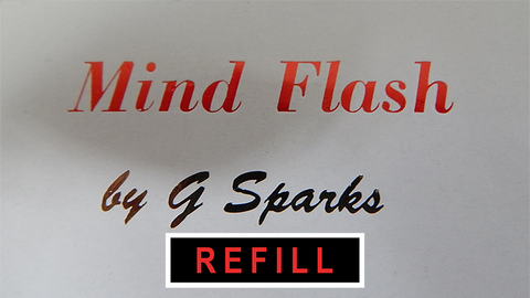 MIND FLASH Extra Wire by G Sparks - Trick