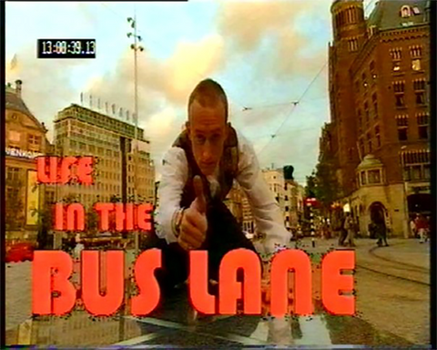 "Royle Reveal's Six Gems From His European Television Series ""Life in the Bus Lane"" by Jonathan Royle - Mixed Media DOWNLOAD"