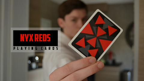Nyx Reds Playing Cards