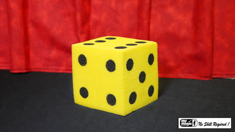 Ball To Dice (Yellow/Black) by Mr. Magic - Trick
