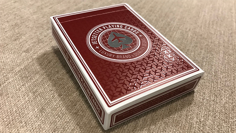 Jetsetter Playing Cards Premier Edition in Restricted Red