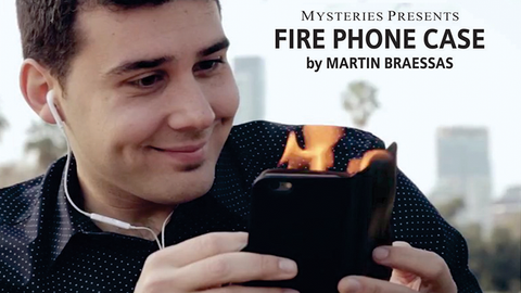 Fire Phone Case by Martin Braessas