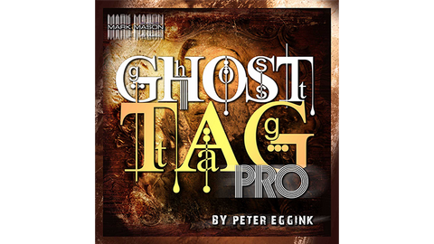 Ghost Tag Pro (Gimmick and Online Instructions) by Peter Eggink - Trick