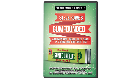 GUMFOUNDED (DVD and Gimmick) by Steve Rowe - DVD