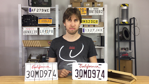 LICENSE PLATE PREDICTION by Martin Andersen