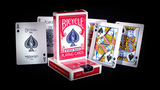 Bicycle Rider Back Playing Cards in Mixed Case Red/Blue by USPCC