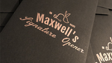 Maxwell's Signature Opener (Gimmicks and Online Instructions)