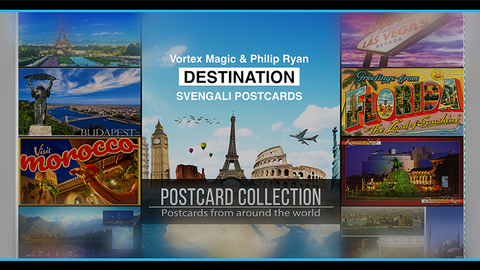 Vortex Magic Presents DESTINATION by Phillip Ryan (Svengali Postcards)
