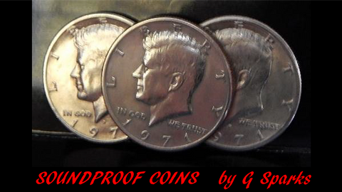 Soundproof Coins by G Sparks Magic