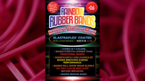 Joe Rindfleisch's SIZE 16 Rainbow Rubber Bands (Vince Mendoza - Mr. Pink) by Joe Rindfleisch