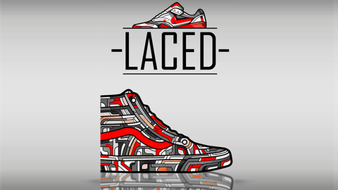LACED (Gimmicks and Online Instructions)