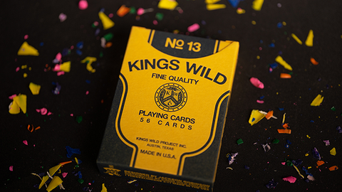 Back To School Playing Cards by Kings Wild Project Inc