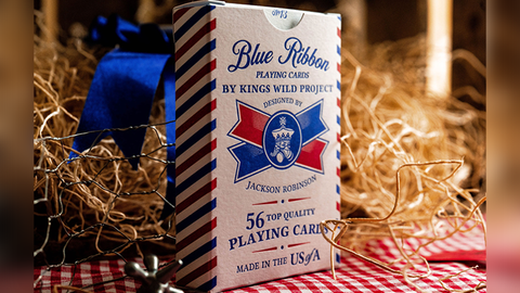 Blue Ribbon Playing Cards by Kings Wild Project Inc.