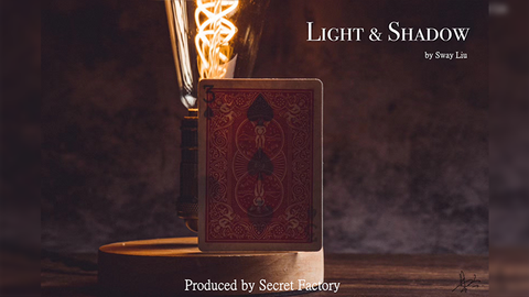 LIGHT AND SHADOW (Gimmicks and Online Instructions) by Secret Factory