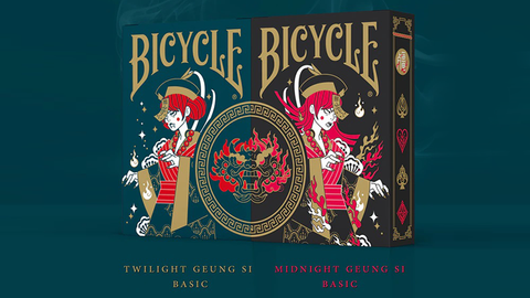 Bicycle Geung Si Playing Cards