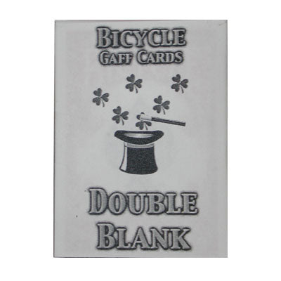 Double Blank Bicycle Cards (box color varies)