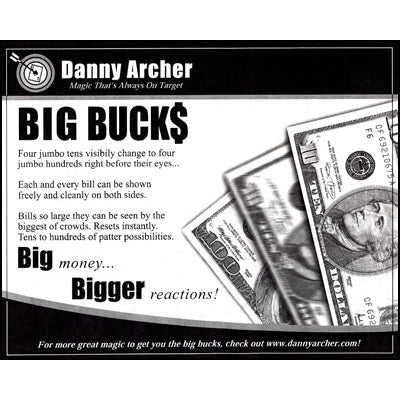 Big Bucks by Danny Archer - Trick