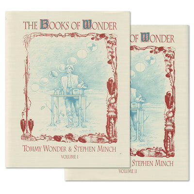 Books of Wonder 2-VOL COMBO set by Tommy Wonder