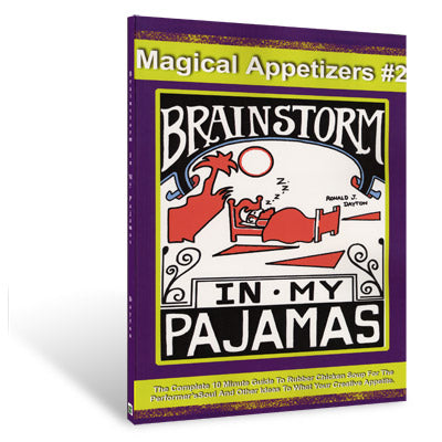 Brainstorm In My Pajamas by Ron Dayton - Book