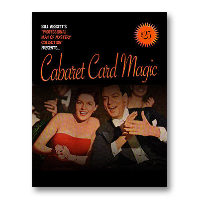 Cabaret Card Magic by Bill Abbott - Book