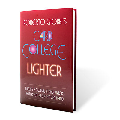 Card College Lighter by Roberto Giobbi - Book