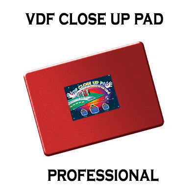 VDF Close Up Pad Professional (Red) by Di Fatta Magic - Trick