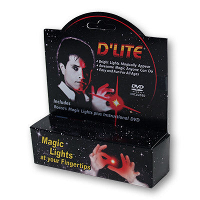 D'Lite Bonus Pack Regular Pair Ultra Bright Red with DVD  - Trick
