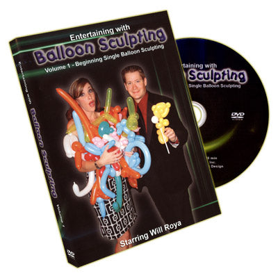 Entertaining With Balloon Sculpting (Will Roya) - Volume 1 - DVD