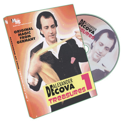Treasures Vol 1 by Alexander DeCova - DVD