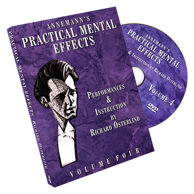 Annemann's Practical Mental Effects Vol. 4 by Richard Osterlind - DVD