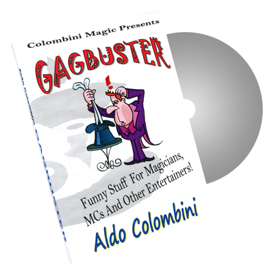 Gagbuster by Wild-Colombini Magic - DVD