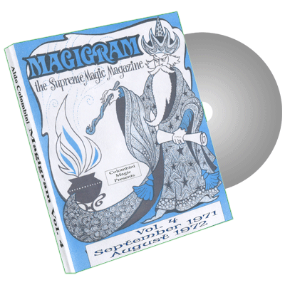 Magigram Vol.4 by Wild-Colombini Magic - DVD