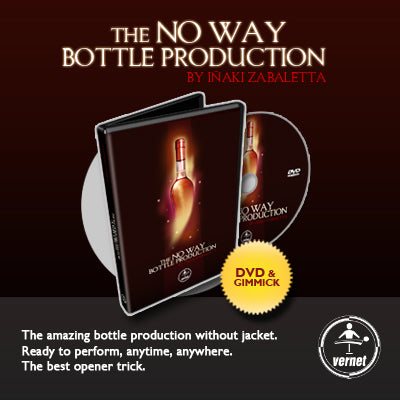 THE NO WAY BOTTLE PRODUCTION by Iñaki Zabaletta and Vernet Magic - DVD