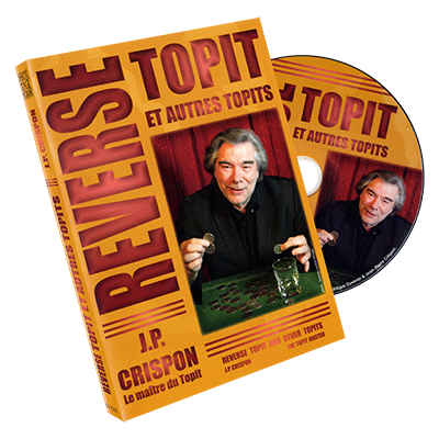 Reverse Topit (Does Not Include Prop) by Jean-Pierre Crispon - DVD