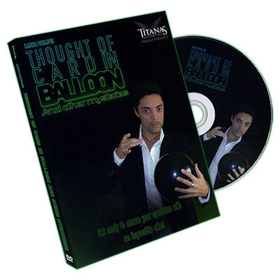 Thought of Card in Balloon by Luca Volpe - DVD