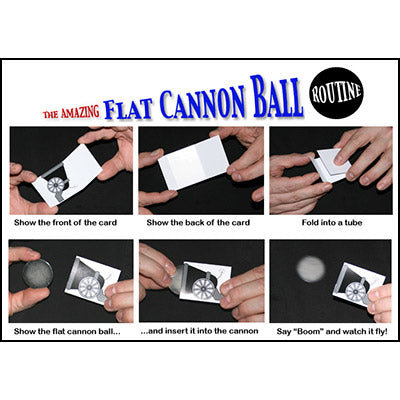 Flat Cannon Ball by Chazpro Magic Co. - Trick