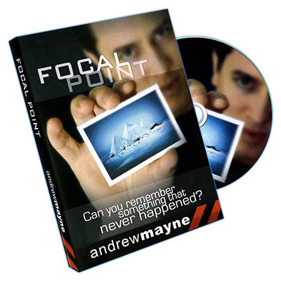 Focal Point (DVD and Props) by Andrew Mayne - Trick