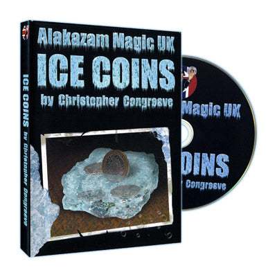 Ice Coins (W/ DVD, UK 2 Pound Size) by Christopher Congreave - Trick