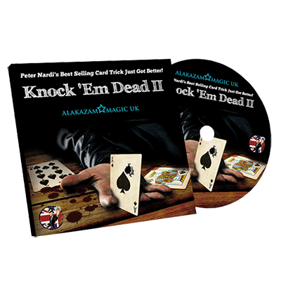 Knock'em Dead 2 (BLUE) by Peter Nardi and Alakazam Magic