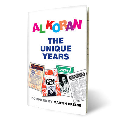 Al Koran The Unique Years by Martin Breese - Book