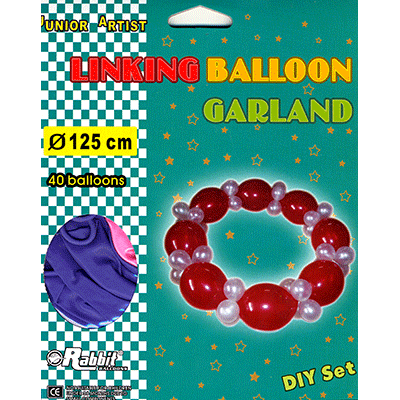 Linking Balloon Garland by Will Roya - Trick
