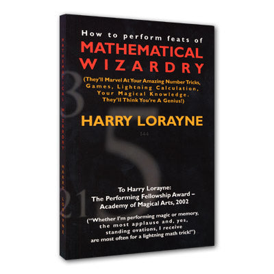 Mathematical Wizardry by Harry Lorayne - Book