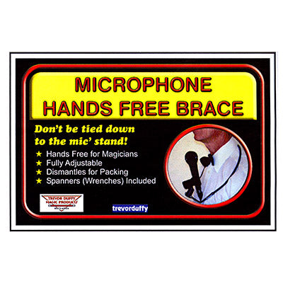 Microphone Hands Free Brace by Trevor Duffy - Trick