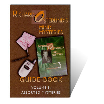 Mind Mysteries 3: Guide Book by Richard Osterlind - Book