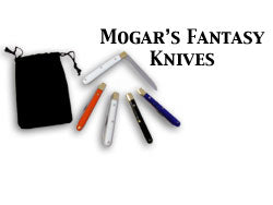 Mogars Fantasy knife (5 knife) set