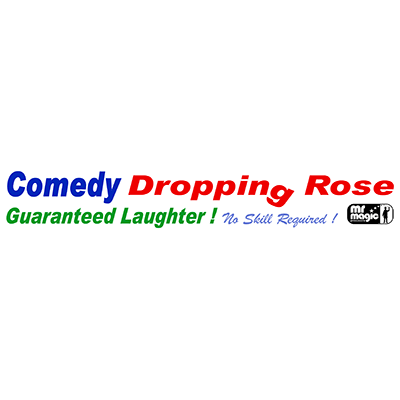 Comedy Drop Rose by Mr. Magic - Trick
