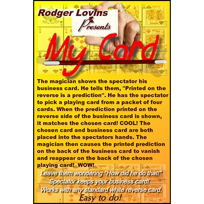 My Card by Rodger Lovins - Trick