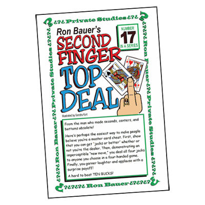 Ron Bauer Series: #17 - Second Finger Top Deal - Book
